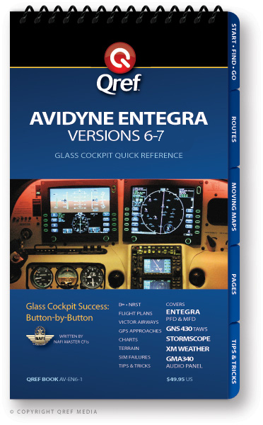 Cirrus Avidyne Entegra (v. 6-7) Avionics Procedure Checklist
