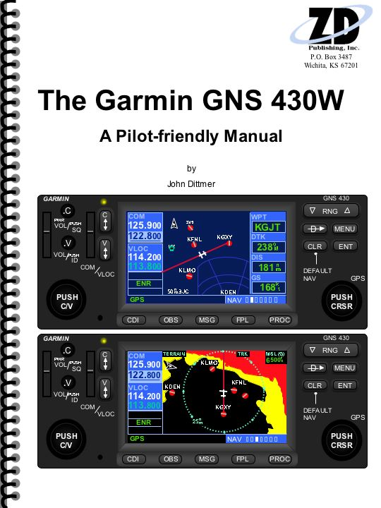 Garmin GNS 430W WAAS Manual