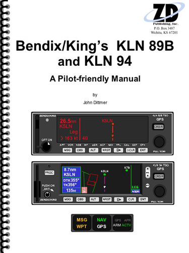 Bendix/King KLN 89B & KLN 94 Manual