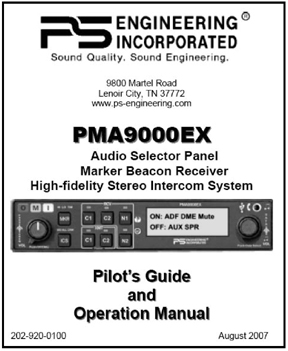 PMA9000EX Audio Panel Manual