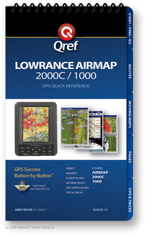 Lowrance Airmap 2000C/1000 Avionics Procedure Checklist