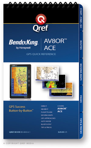 Bendix/King AV80R ACE Avionics Procedure Checklist
