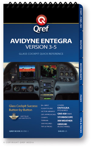 Cirrus Avidyne Entegra (v. 3-5) Avionics Procedure Checklist