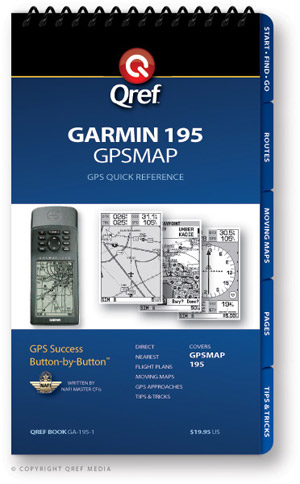 Garmin GPSMAP 195 Avionics Procedure Checklist