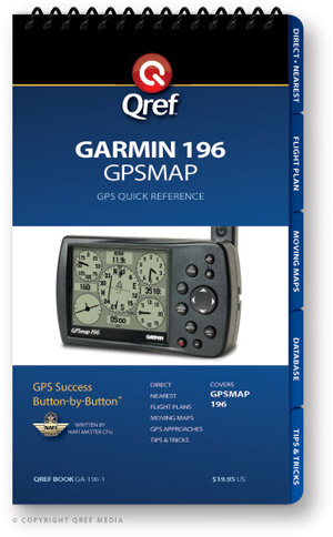 Garmin GPSMAP 196 Avionics Procedure Checklist