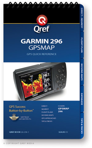 Garmin GPSMAP 296 Avionics Procedure Checklist