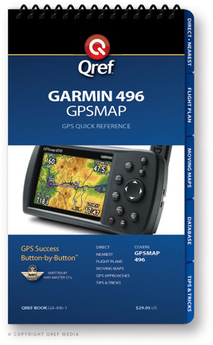 Garmin GPSMAP 496 Avionics Procedure Checklist