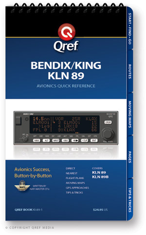 Bendix/King KLN-89B Avionics Procedure Checklist