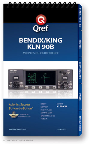 Bendix/King KLN-90B Avionics Procedure Checklist
