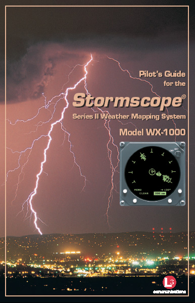 Stormscope WX-1000 Pilot Guide