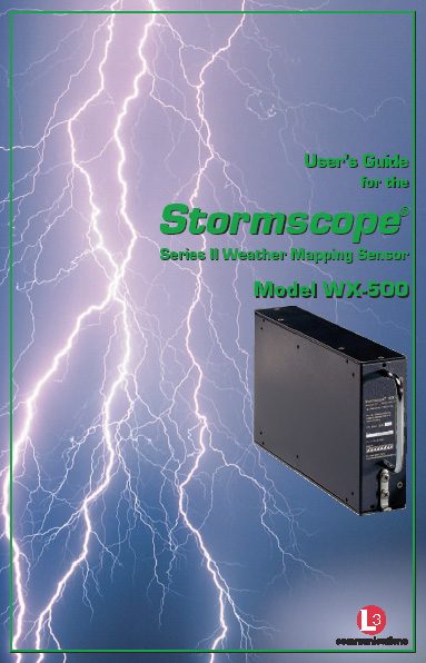 Stormscope WX-500 Pilot Guide