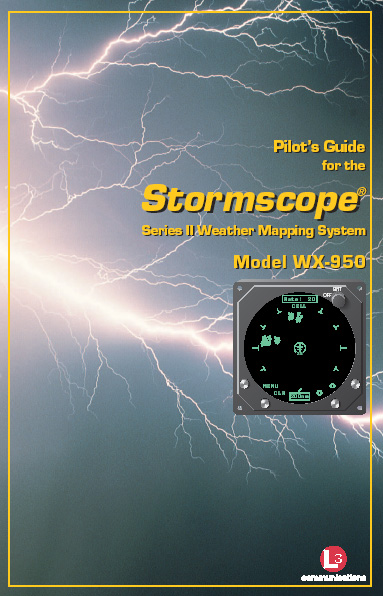 Stormscope WX-950 Pilot Guide
